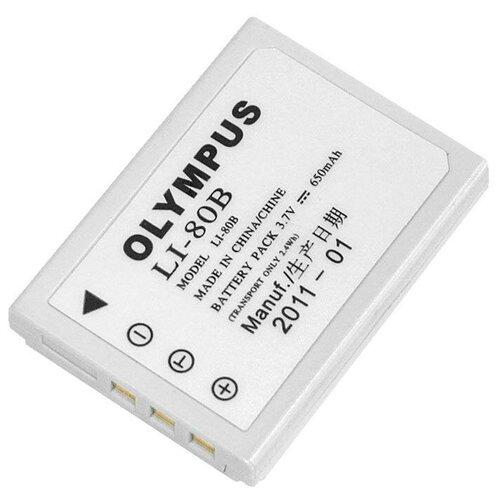 Фото - Аккумулятор OLYMPUS Li-80B аккумулятор vbparts li 10b 3 7v 1200mah 077153 для olympus camedia c 50