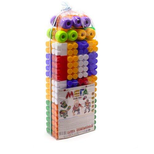 Конструктор детский большие блоки разноцветный 77 элемента MAXIMUS Мега мастер / конструктор для мальчиков / развивающие игрушки / конструкторы для девочек / конструкторы для мальчиков / конструктор для девочек / детский конструктор