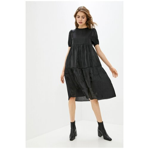 Платье Befree, размер M/46, черный (126) платье befree befree be031ewbxib1
