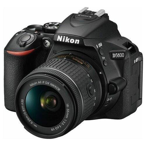 Фото - Зеркальный фотоаппарат Nikon D5600 kit AF-P 18-55mm VR крышка nikon на объектив 55mm