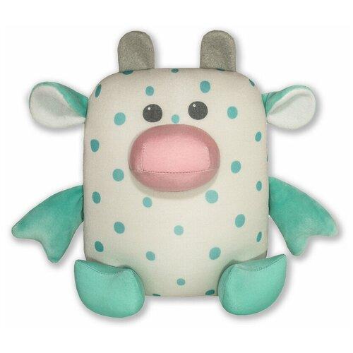 Купить Мягкая игрушка-антистресс Штучки, к которым тянутся ручки Бык Кроха , 22см, зеленый, Мягкие игрушки