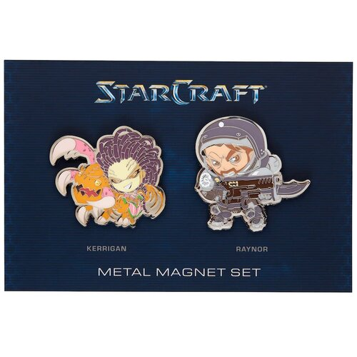 Магнит Blizzard Starcarft 2 Logo