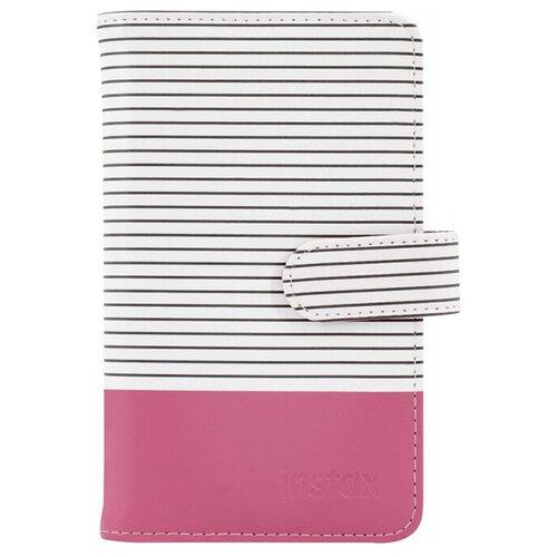 Фото - Фотоальбом Fujifilm Instax Mini Striped Album Flamingo Pink чехол fujifilm для instax mini 11 blush pink