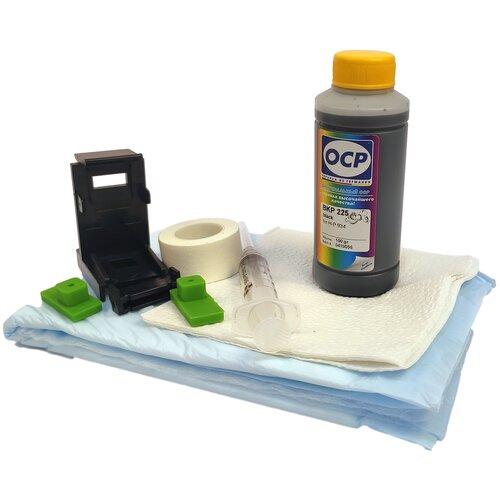 Фото - Заправочный набор для черного картриджа HP 21, 27, 56 принтеров HP Deskjet F2180, F2187, F2280, F4180, F4283, 3520, 3650, 3745, 3940, D1460, HP PSC 1110, 1210, 1215, 1315, 1350, 1410, Photosmart 7260, 7450, 7660, 7760, 7960 100мл чернила краска для заправки принтера hp psc 1215 набор оптима