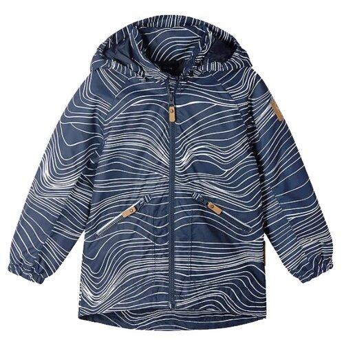 Куртка Reima размер 122, 6986 синий брюки reima voyage 532083 размер 122 9990 черный
