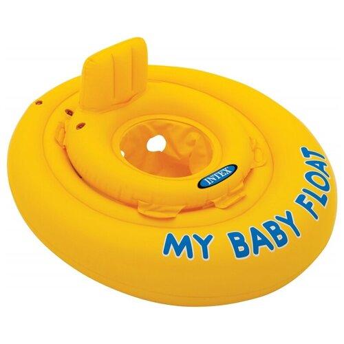 Надувной круг Intex Мой маленький плот 56585 intex надувной плот intex pool school