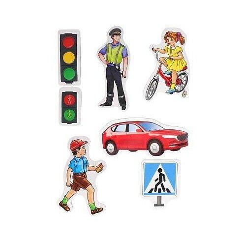 Фото - Развивающая игра Рыжий кот Весёлое обучение. Правила дорожного движения, магнитная развивающая игра рыжий кот игры с маркером развиваем логику и мышление