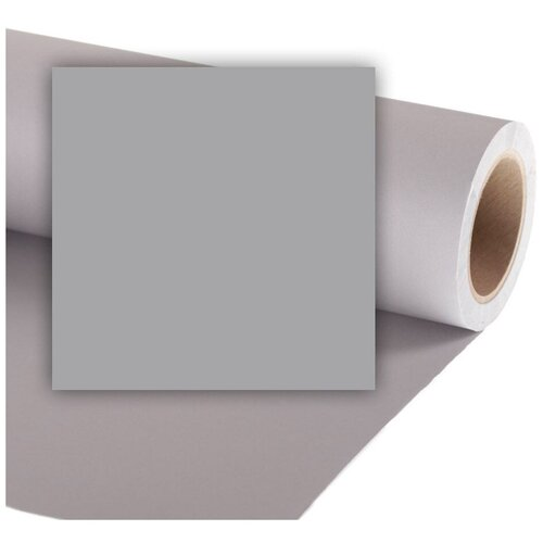 Фото - Фон Colorama Storm Grey, бумажный, 1.35 x 11 м фон бумажный colorama ll co531 1 35x11 м maize