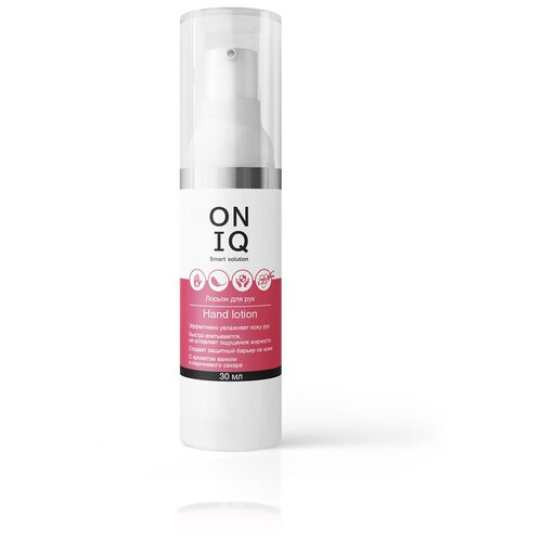 ONIQ ONIQ, лосьон для рук с ароматом ванили и коричневого сахара, 30 мл