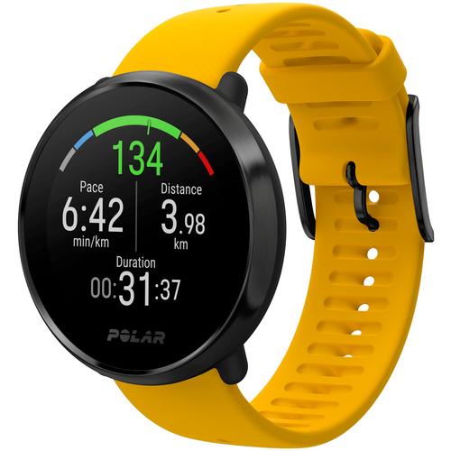 Фитнес-часы с пульсометром Polar Ignite YEL/BLK M/L с GPS