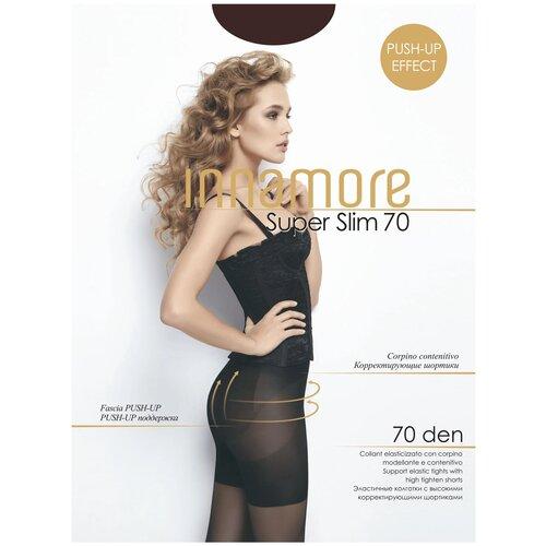 Фото - Колготки Innamore Super Slim, 70 den, размер 2-S, moka (коричневый) колготки innamore microfibra 100 den размер 2 s moka коричневый