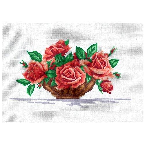 Набор для вышивания Сделай своими руками ССР.Р-16 Розы 26х15 см