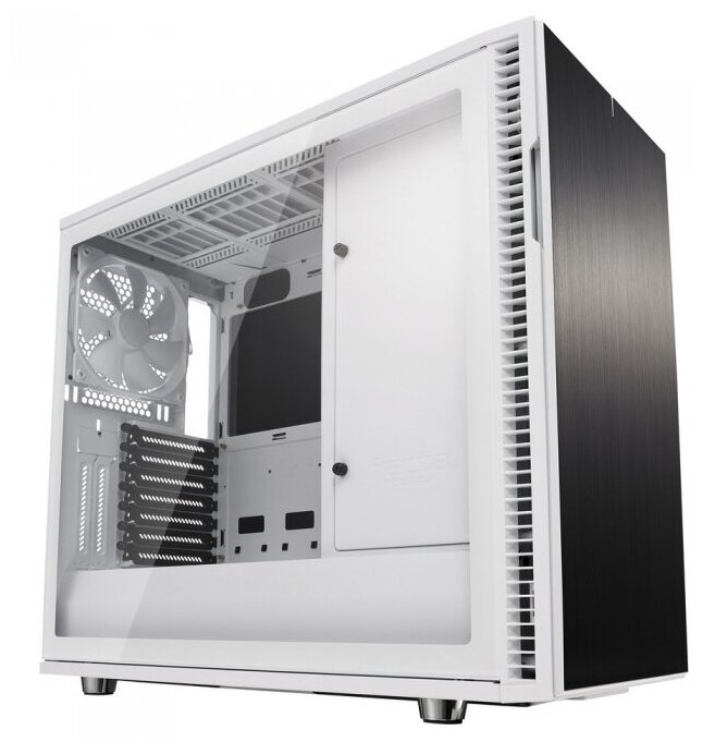 Корпус Fractal Design Define R6 USB-C White Tempered G — купить по выгодной цене на Яндекс.Маркете