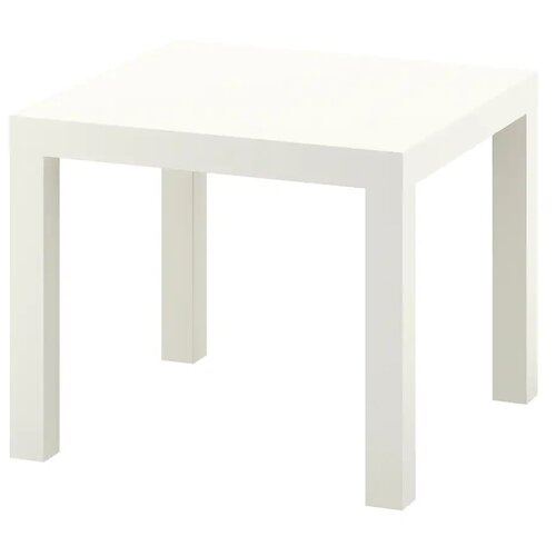 LACK лакк Придиванный столик, белый55x55 см