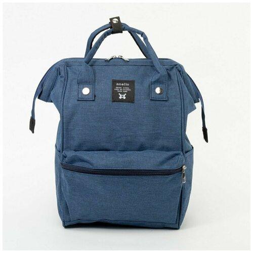 Рюкзак-саквояж Anello синий