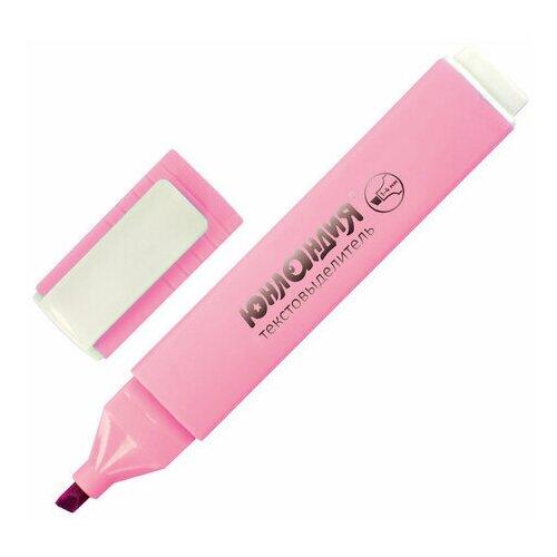 Купить Маркер-текстовыделитель Юнландия Colorstar Pastel (1-4мм, пастельный розовый) 4шт., 12 уп. (151712), Маркеры