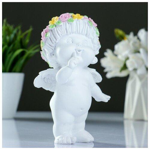 Фигура Ангел пальчик во рту белый 8х9х15см фигура ангел пальчик во рту белый 8х9х15см 3865133