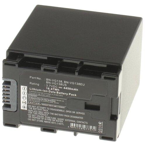 Аккумуляторная батарея iBatt 4450mAh для Jvc, JVC, Jvc, JVC, Jvc BN-VG107E, BN-VG107, BN-VG121E, BN-VG121U