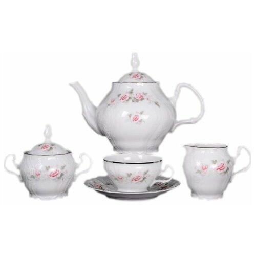 Чайный сервиз на 6 персон 15 предметов Thun