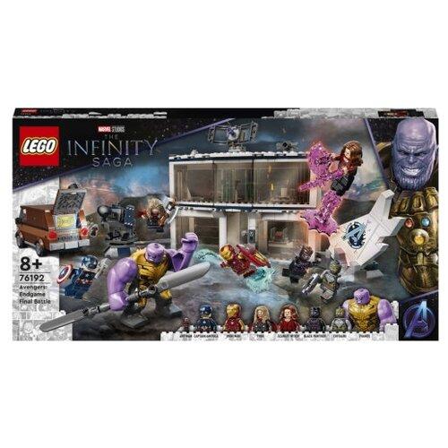 Купить Конструктор LEGO Marvel Avengers Movie 4 76192 Мстители Финал Решающая битва, Конструкторы