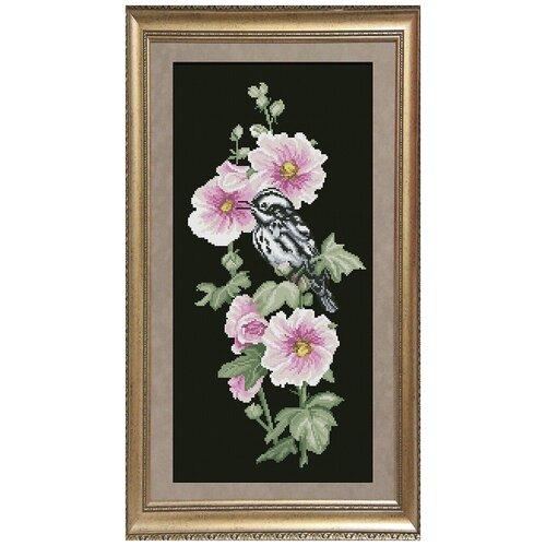 Набор для вышивания мулине краса И творчество арт.31216 Птицы 3 21,8х45,6 см