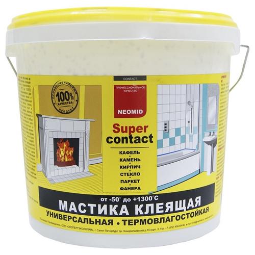 Мастика клеящая Neomid SuperContact, 4 кг