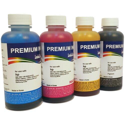 Фото - Чернила (краска) InkTec H7064 для картриджей HP: 178, 920, 901, 121 и GT принтеров 100x4 чернила краска для заправки принтера hp envy 5532 набор оптима