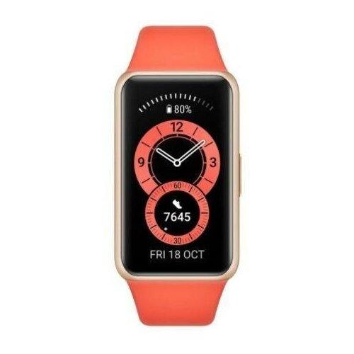 Фитнес браслет Huawei Band 6 Amber sunrise (RU) фитнес браслет huawei band 4 pro cinnabar red