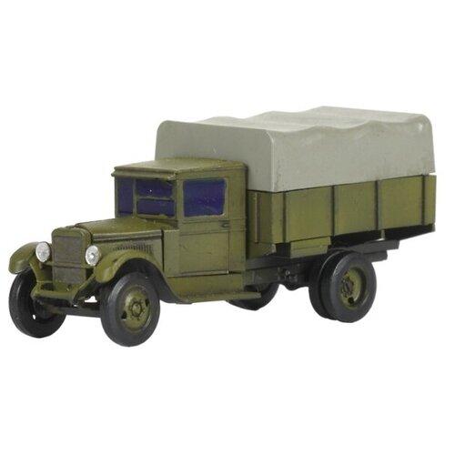 Сборная модель ZVEZDA Советский армейский 3-тонный грузовик ЗИС-5 (6124) 1:100 сборная модель zvezda советский грузовик 4 5 тонны зис 151 3541 1 35