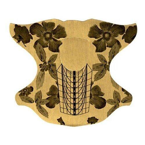 Купить IRISK PROFESSIONAL Irisk, формы металлизированные Цветок, 100шт