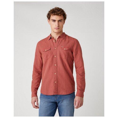 Рубашка Wrangler размер M коралловый