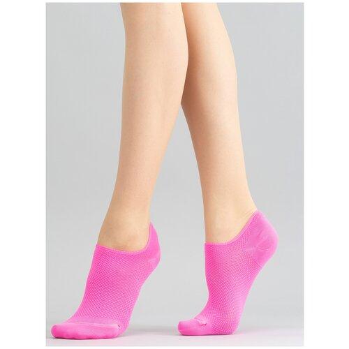 Носки Giulia WS0 NEON PA 001 размер UNI, pink neon (Розовый)