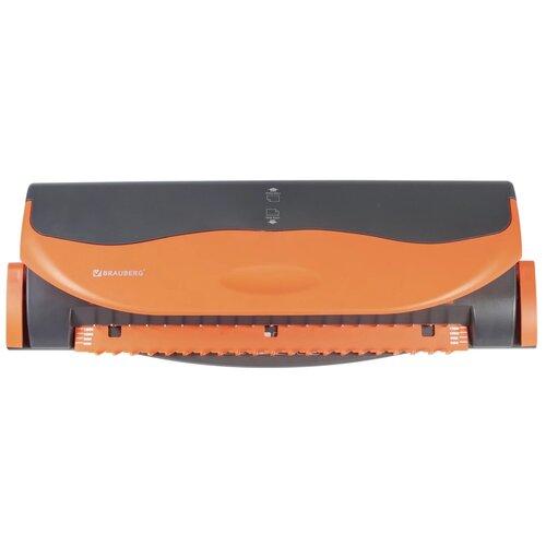 Механический брошюровщик BRAUBERG BM-4 темно-серый/оранжевый