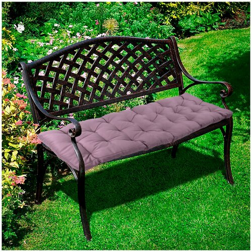 Подушка для скамьи 148х42х8 лиловый