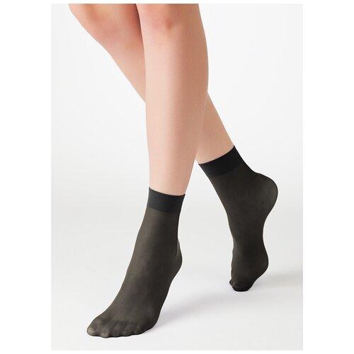 Капроновые носки MiNiMi Micro Colors 50 3D, размер 0 (one size), nero
