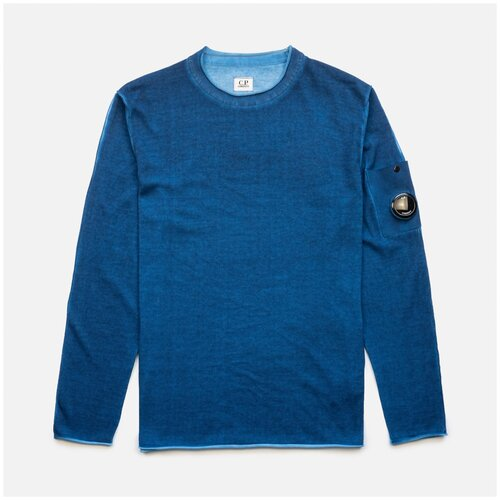 Толстовка C.P. Company Knitwear Lens Lyons Blue