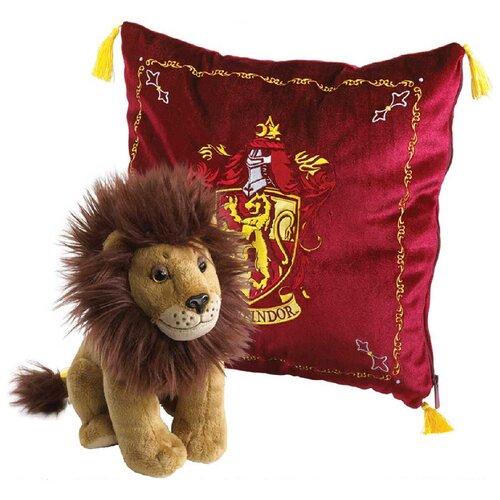 Мягкая игрушка Гарри Поттер: Талисман Гриффиндора – Лев (мягкая игрушка + чехол для подушки)