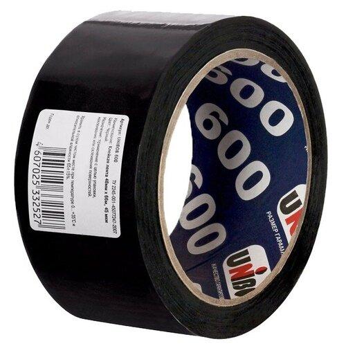 Фото - Unibob /Упаковочная клейкая лента 48мм х 66м клейкая лента коричневая unibob 48мм 66м 45мкм 6 шт в упаковке