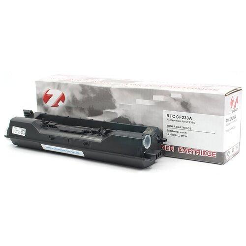 Фото - Тонер-картридж 7Q CF233A для HP LJ M106, LJ M134 (Чёрный, 2300 стр.) тонер картридж 33a laserjet cf233a