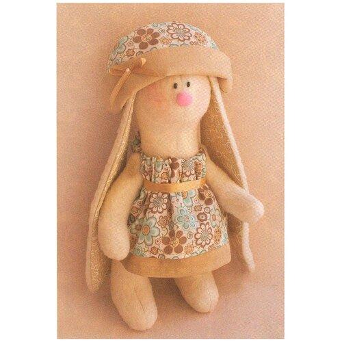 Купить R009 Набор для изготовления игрушки 'RABBIT'S STORY' Зайка с длинными ушами 20см, Ваниль, Изготовление кукол и игрушек