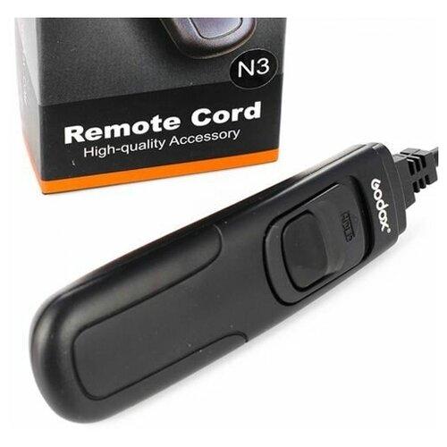 Фото - Спусковой тросик Godox RC-N3 для Nikon D90 D5200 D7100 D3200 сумка nikon crumpler slr для d3200 d3300 d3400 d5100 d5200 d5300 d5500 d5600