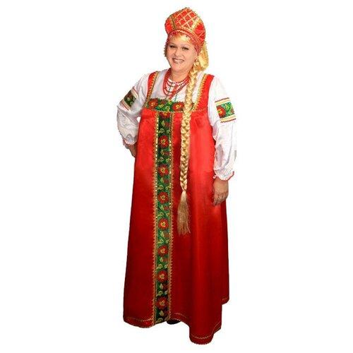 Костюм русский народный Марфа взрослый, 54