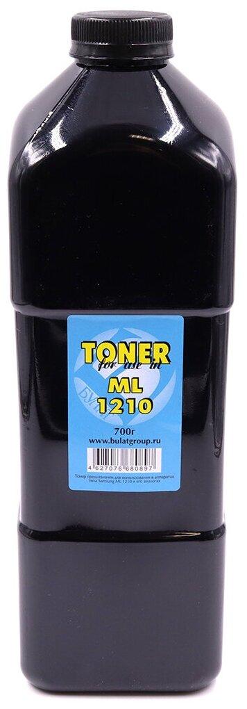 Тонер булат ML-1210 для Samsung ML-1210 (Чёрный, банка 700г.) — купить по выгодной цене на Яндекс.Маркете
