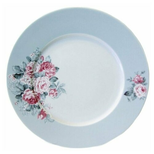 Тарелка плоская Cmielow Astra Розы, 27см, фарфор.  тарелка cmielow rococo плоская 25см фарфор 0031190 rococo