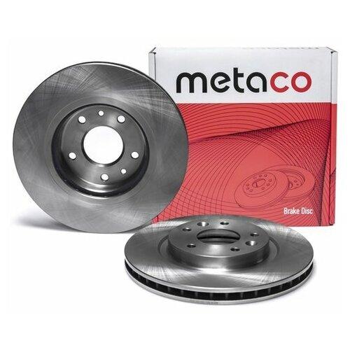 Диск тормозной передний вентилируемый (Производитель: METACO 3050345)