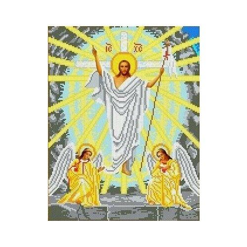 Воскресение Христово Рисунок на ткани 28х36 Каролинка ткби 3064 28х36 Каролинка ткби 3064)
