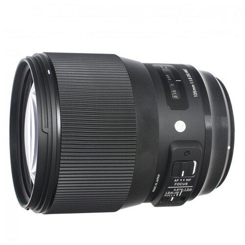 Фото - Объектив Sigma AF 135mm f/1.8 DG HSM Art L-MOUNT черный объектив sigma 35mm f 1 4 dg dn art l mount черный