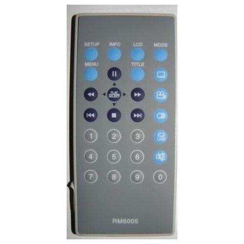 Пульт HUAYU RM6005 DVD портативный для видеотехники MUSTEK