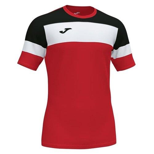 Футболка joma Crew IV размер S, красно-черный