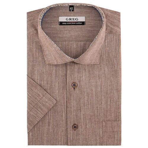 Рубашка GREG коричневый